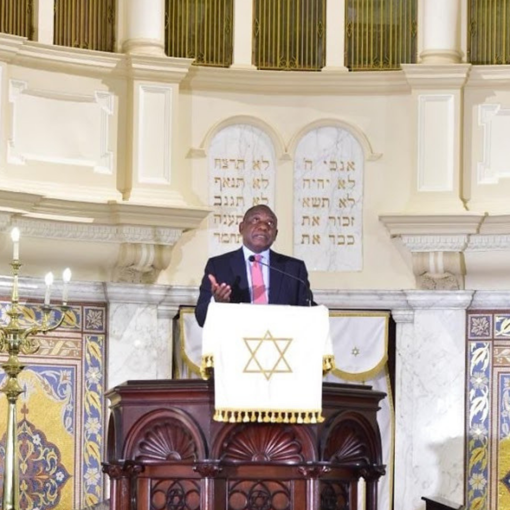 Ramaphosa's Address to the Jewish Community